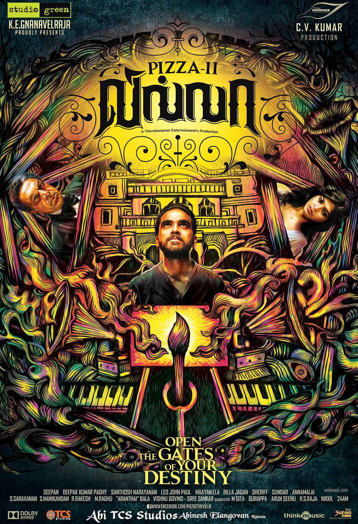 tamil movie poster design pizza by prathoolnt