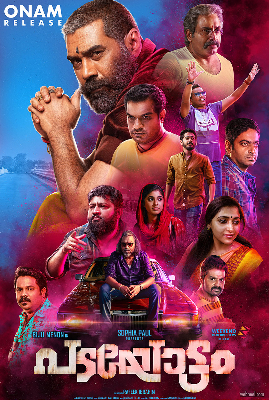 movie poster design malayalam padayottam