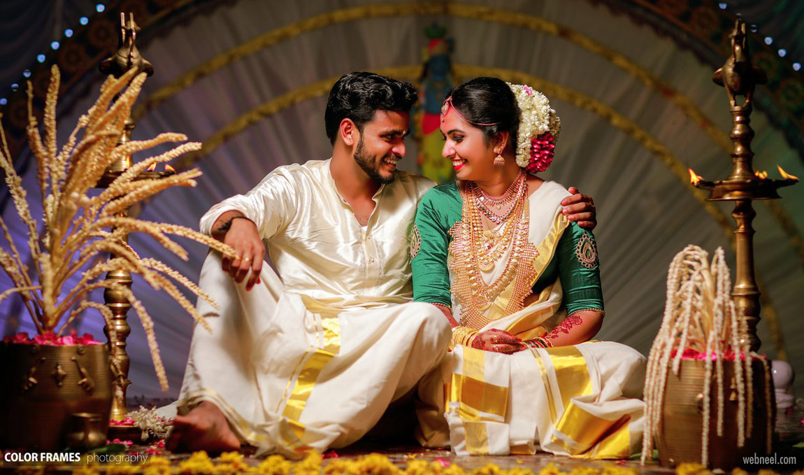 kerala wedding photography by color frames