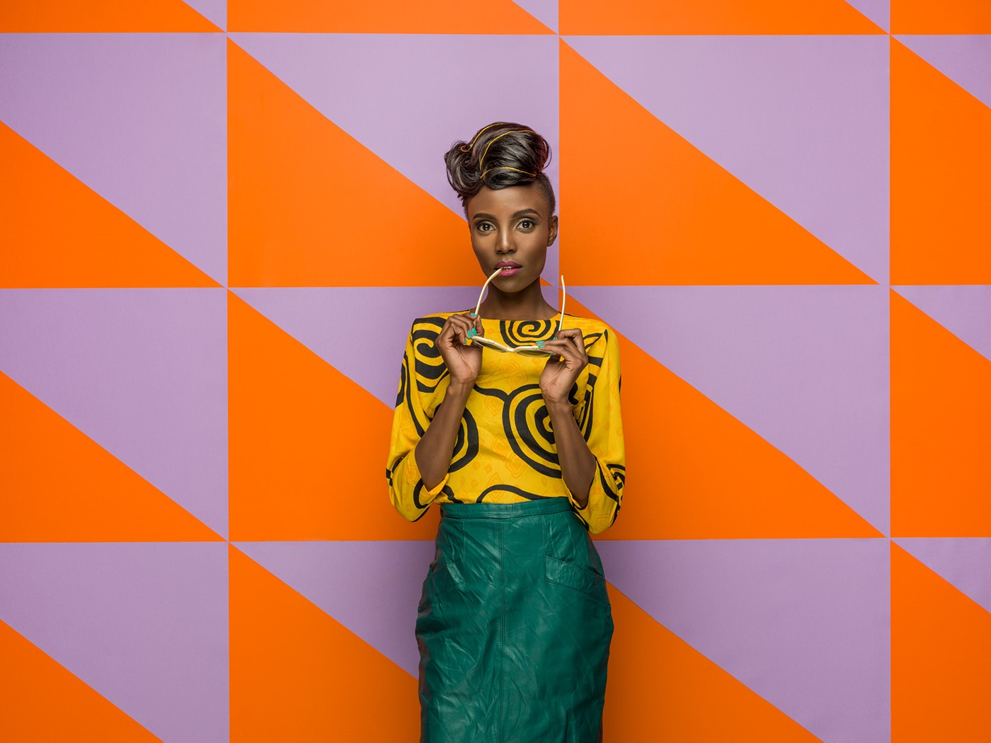 portrait photography yellow colorcafe by osborne macharia