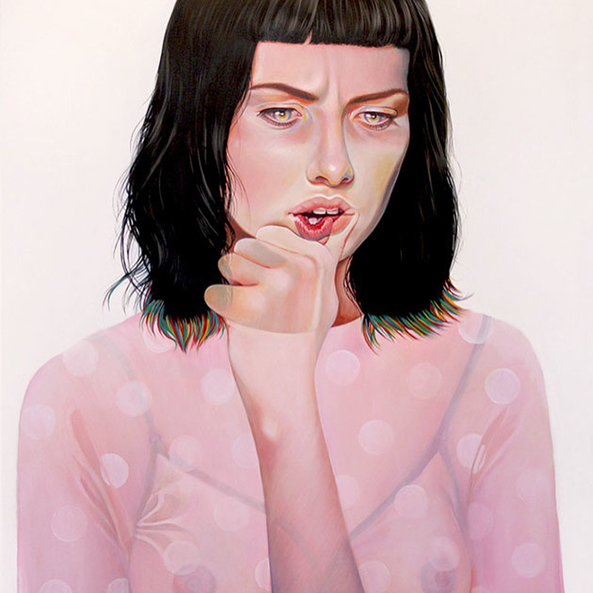 acrylic paintings true detective by martine johanna