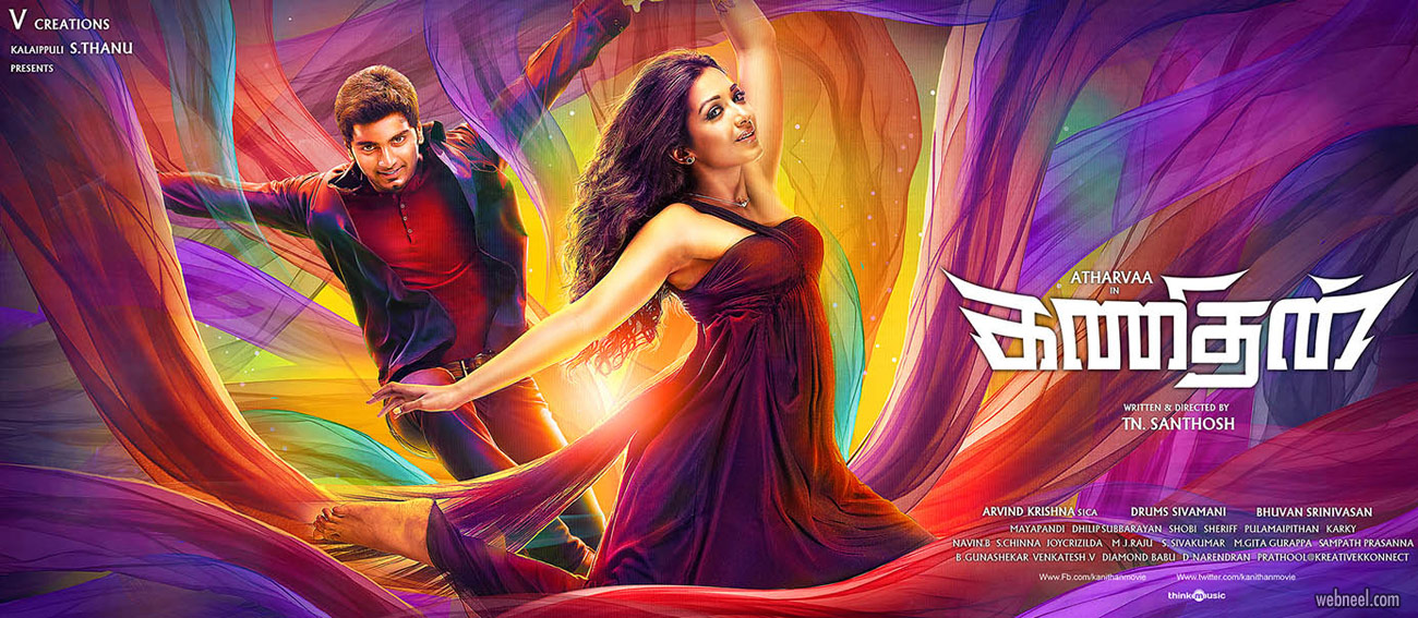 movie poster design india tamil kanithan by prathoolnt
