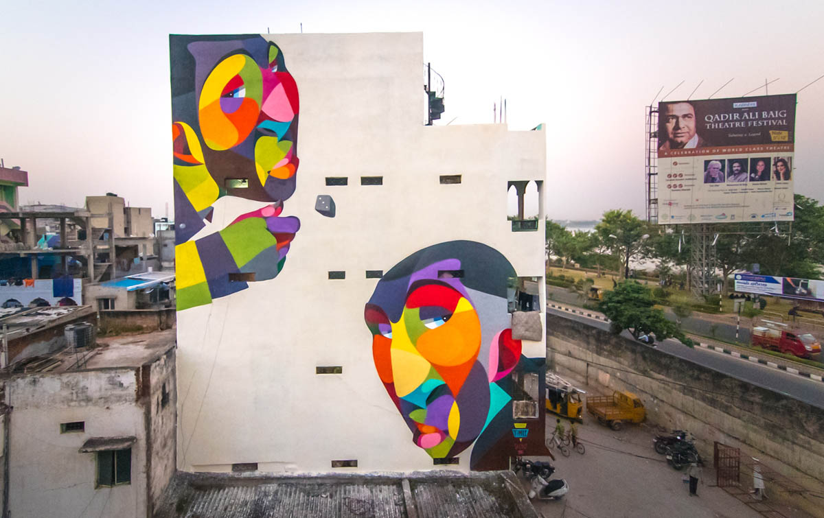 indian street art by akshat nauriyal