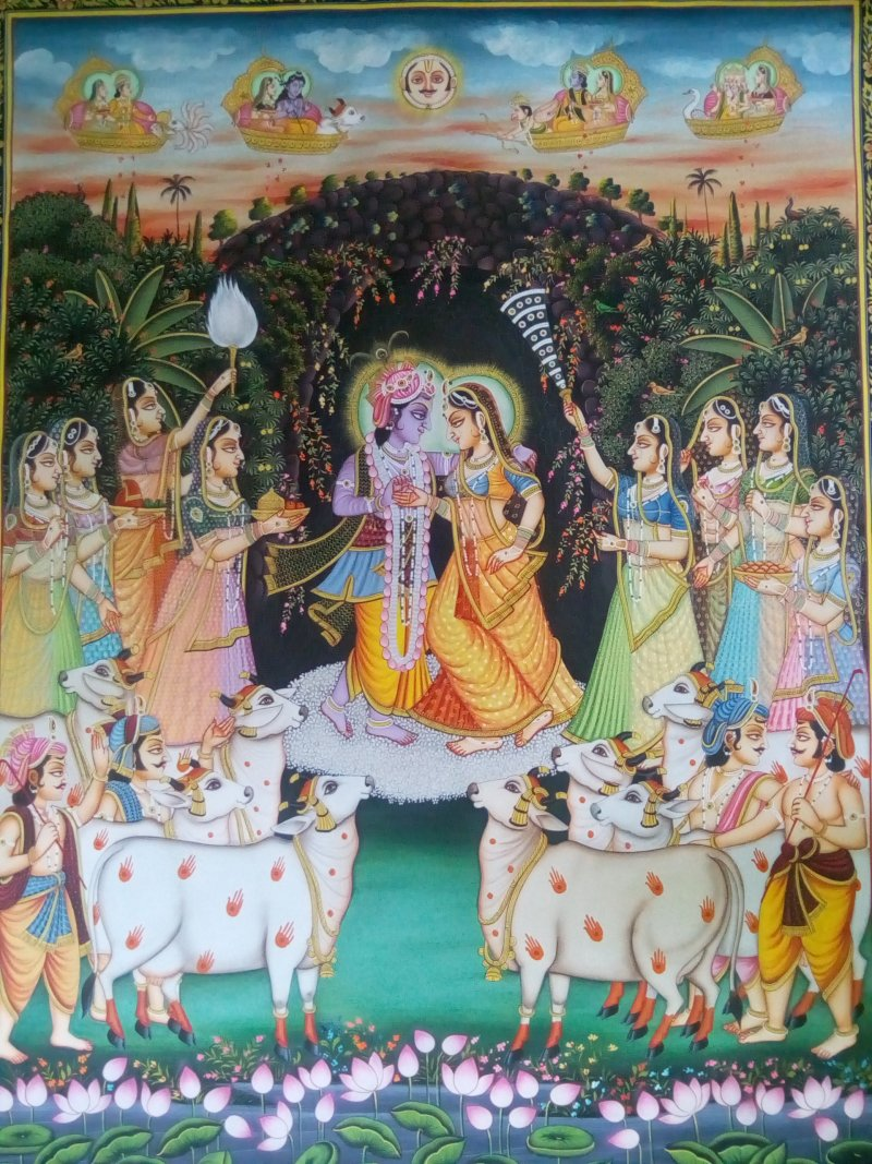 painting rajasthani myth
