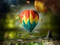 photo-manipulation-hot-air-balloon-scenery