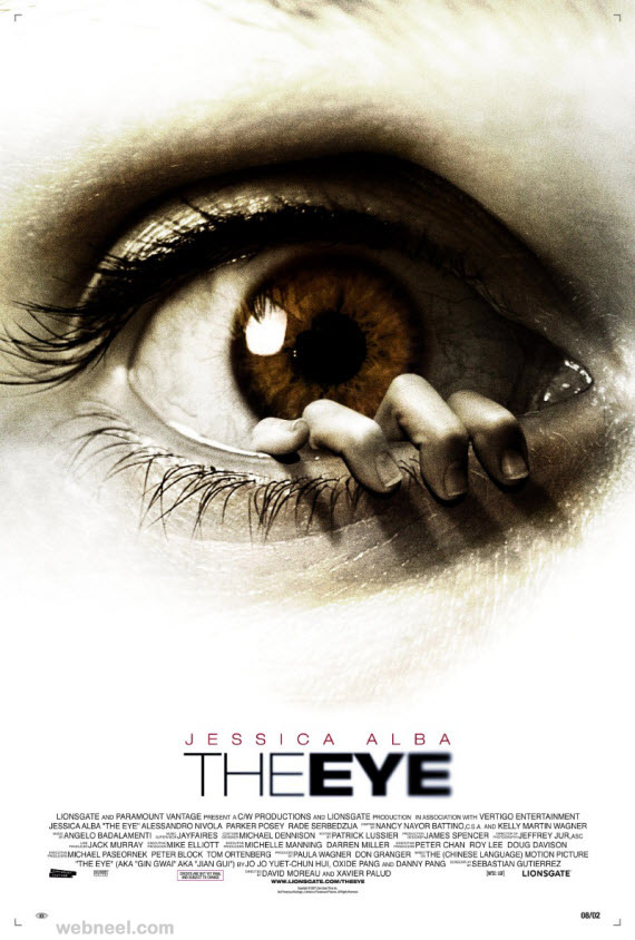 The Eye Creative Movie Poster Design 10