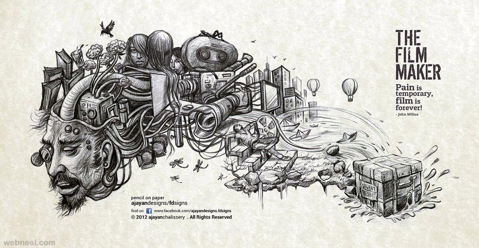 kerala artist drawing