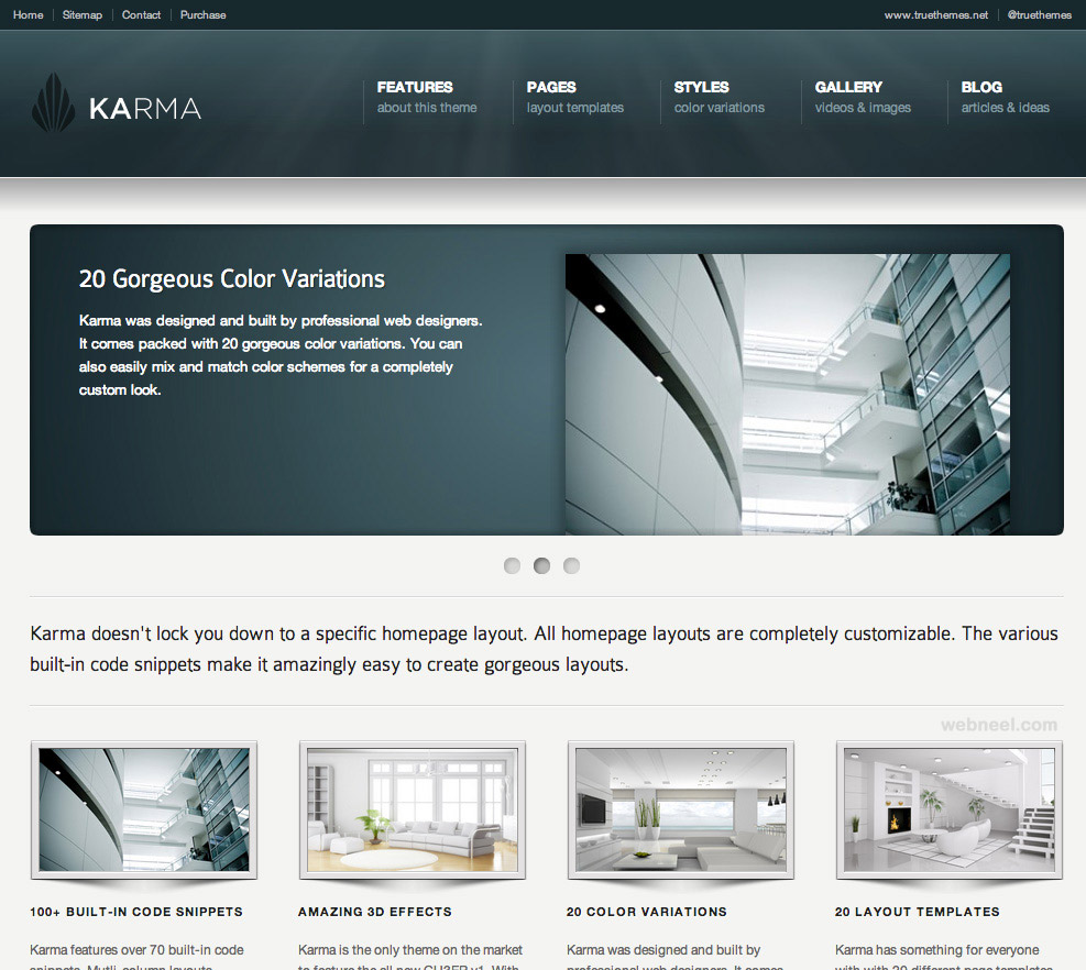 25 best corporate website design examples for your inspiration for Blueprint websites