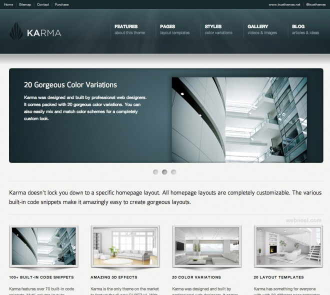 25 best corporate website design examples for your inspiration cheaphphosting Image collections