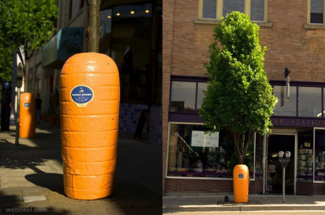 carrot wrap tree ad