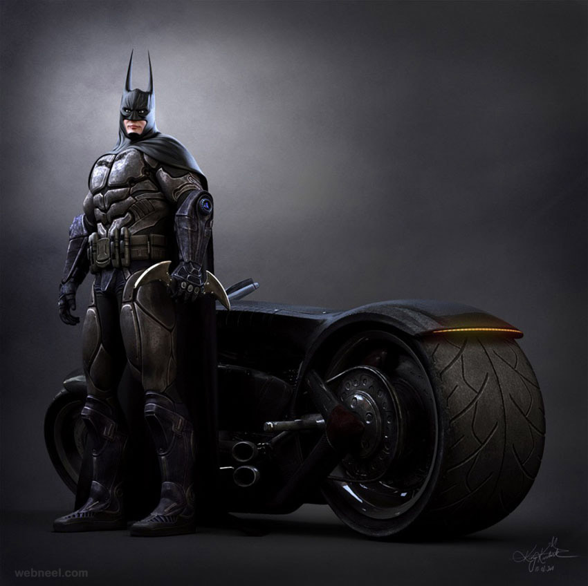 Batman 3d game character design 24 back to article