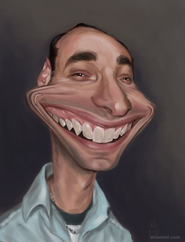 celebrity caricature