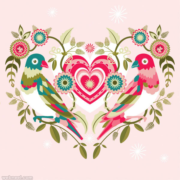 valentines day design vector - Valentines Designs