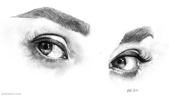 eyes drawing