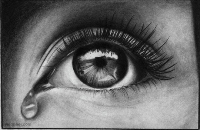 Eye tears drawing eye tears drawing best eye pencil drawing