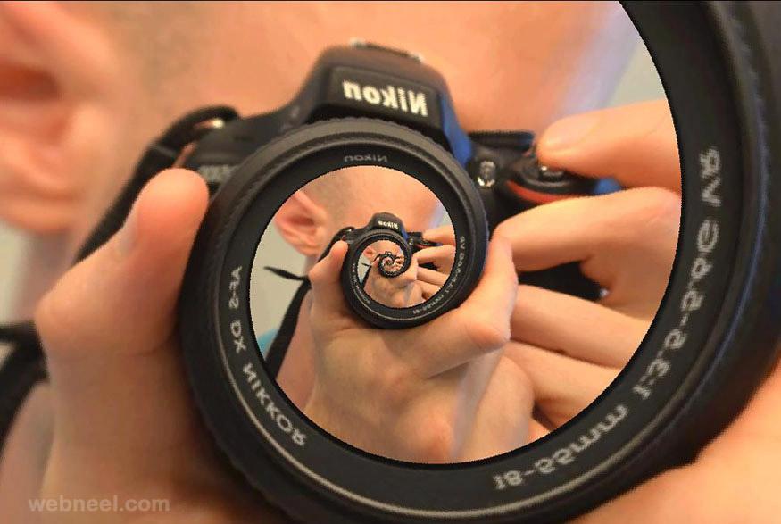 droste effect camera