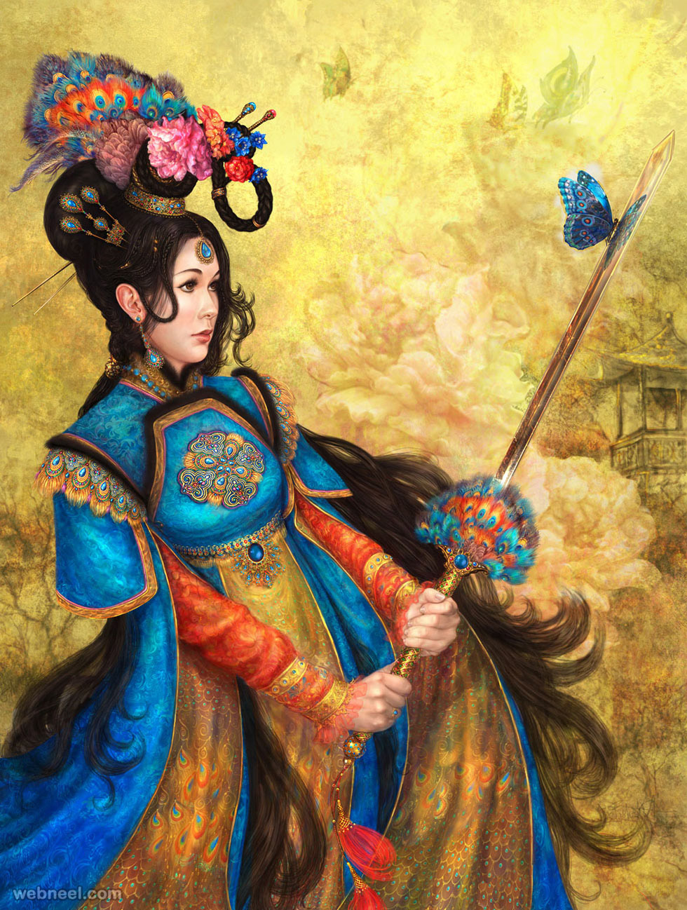 25 beautiful and stunning fantasy art works for your
