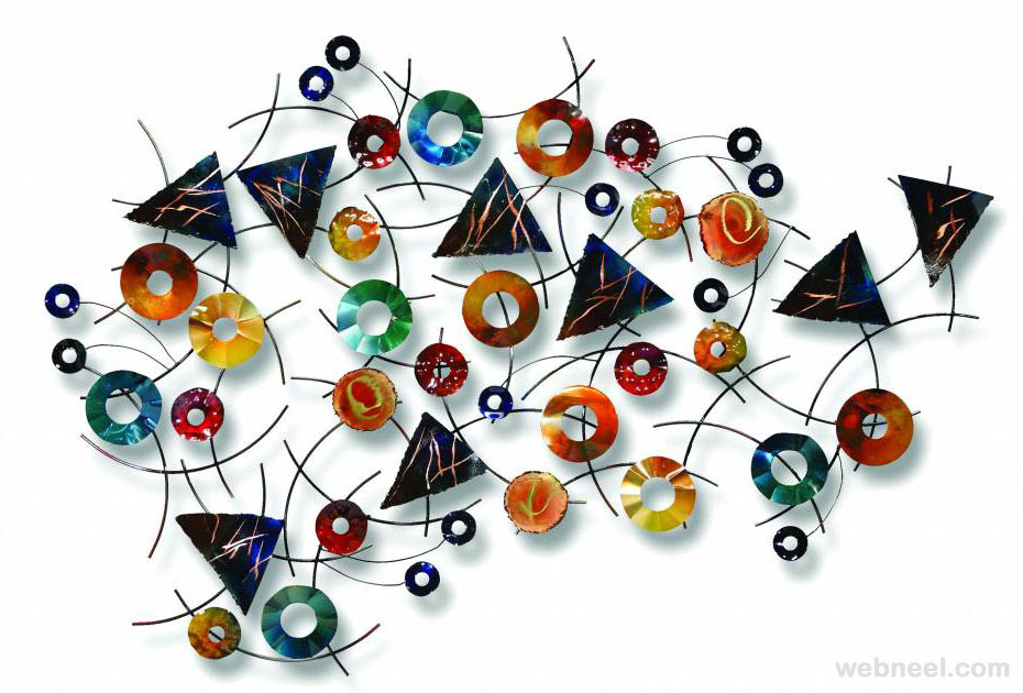 contemporary wall sculptures