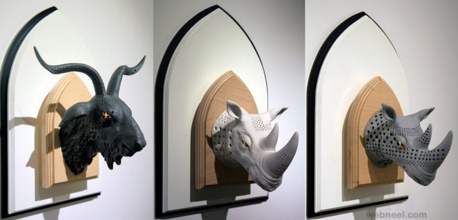 wall sculptures