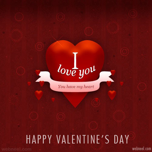 30 Beautiful Valentines Day Cards Greeting Cards inspiration – Greeting Cards of Valentine Day