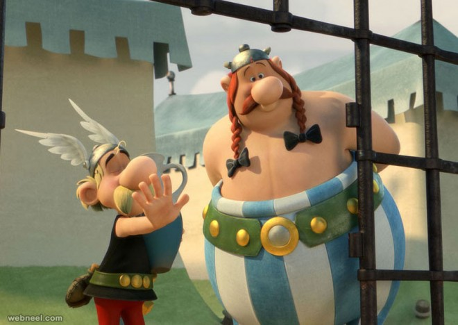 asterix animation movie
