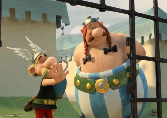 asterix animation movie