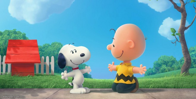 peanuts animation movie