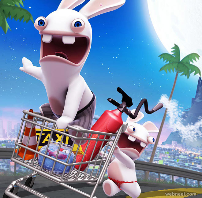rabbids animation movie