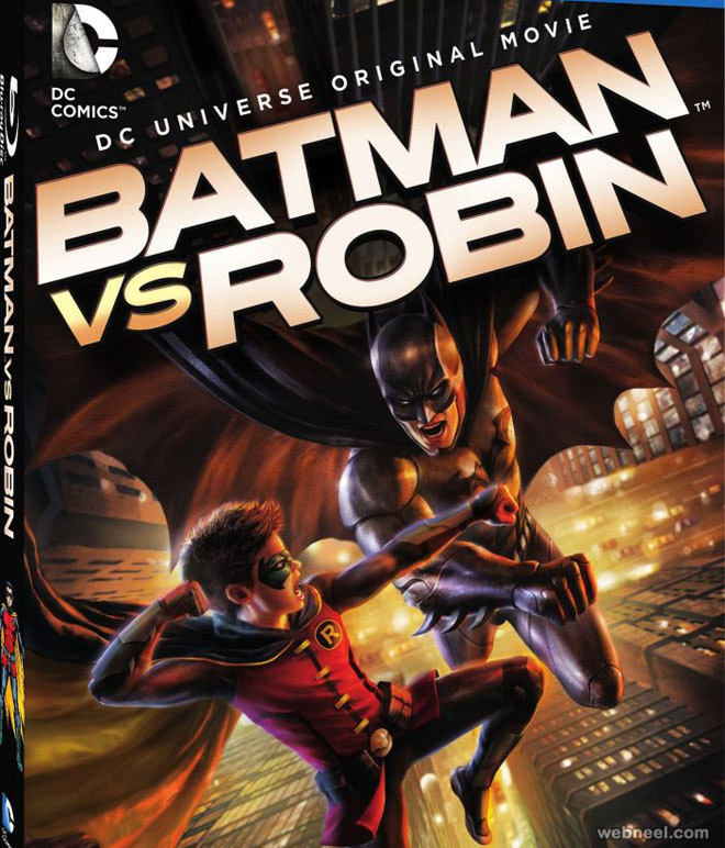 batsman vs robin animation movie