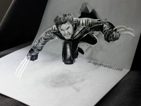 3d drawing by iza nagi