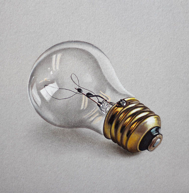 bulb 3d drawings by marcello barenghi