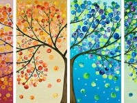 tree art painting