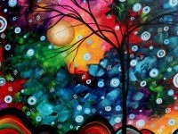 tree painting by megan duncanson
