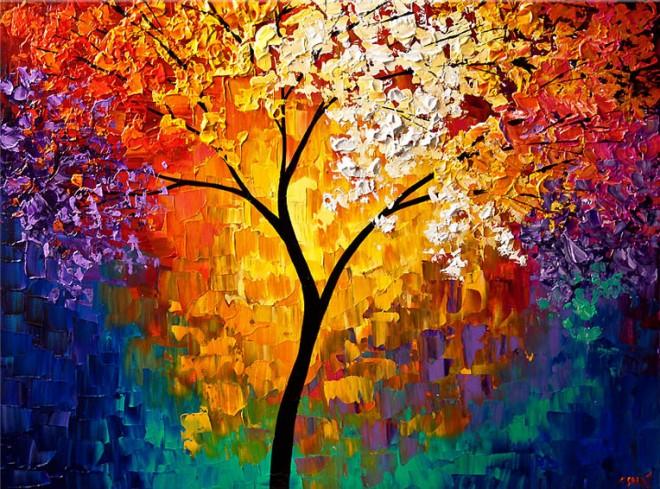 tree wall paintings