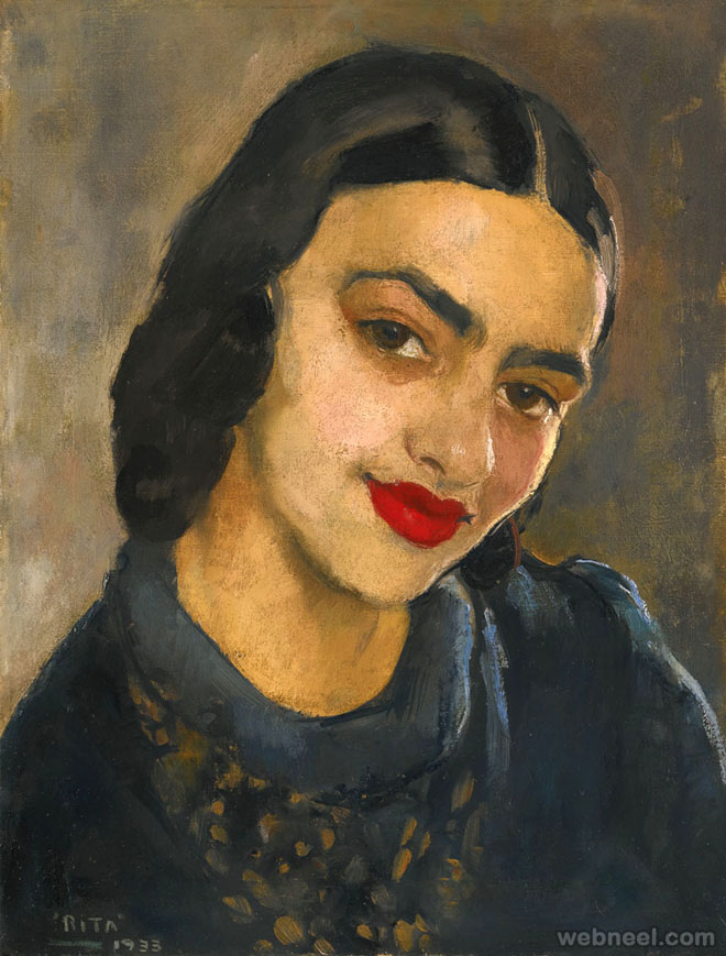 Famous Gypsy Woman Painting