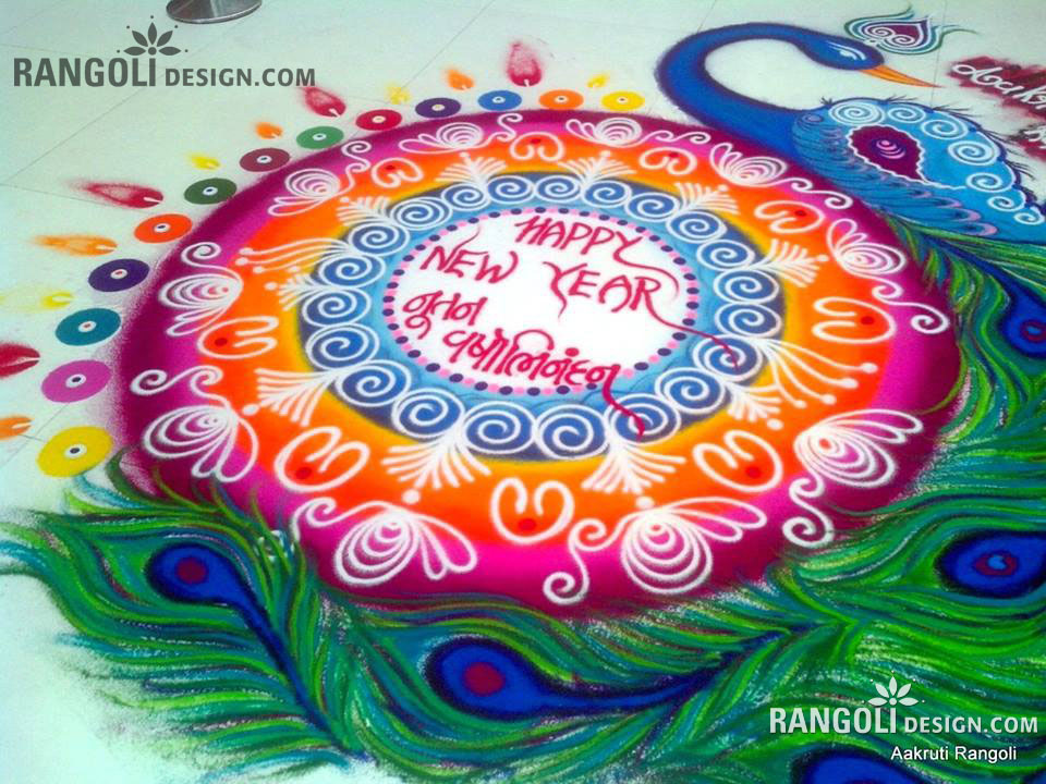 15 Simple And Easy Rangoli Designs For Kids  Styles At Life