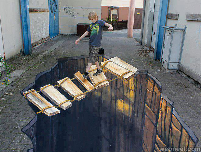 50 Incredible 3D Street Art works from the worlds best street artists