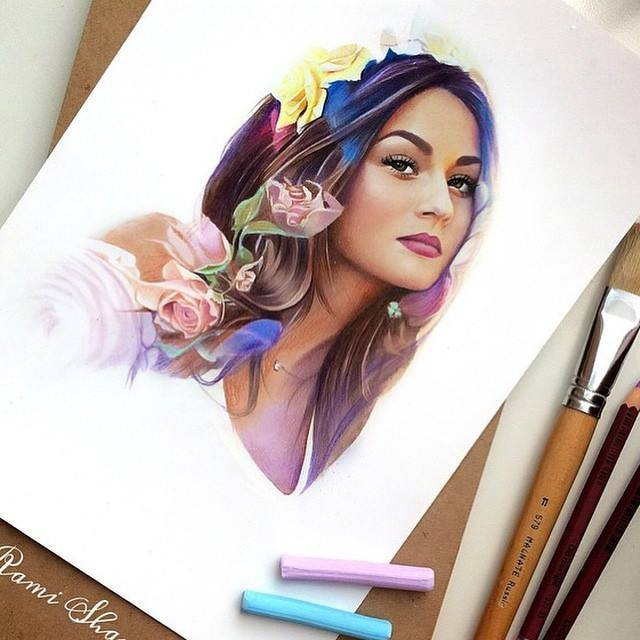 Color Pencil Drawings by Tatshashkina art