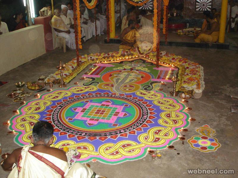 rangoli designs festival