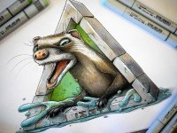 13-animal-creative-drawings-by-tino-valentin-hopic