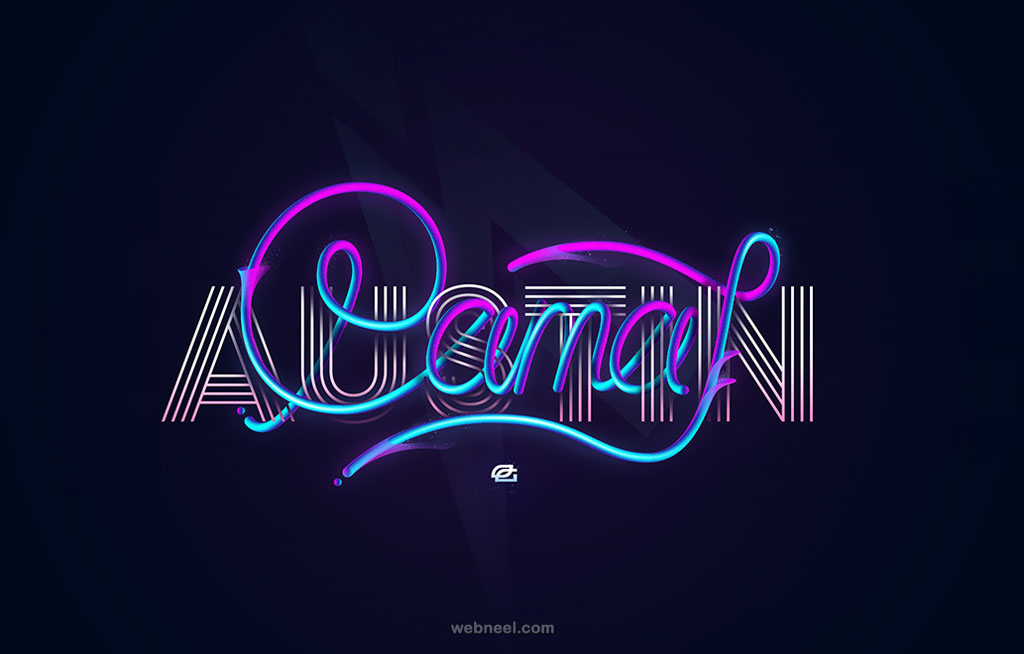 pamaj austin typography design
