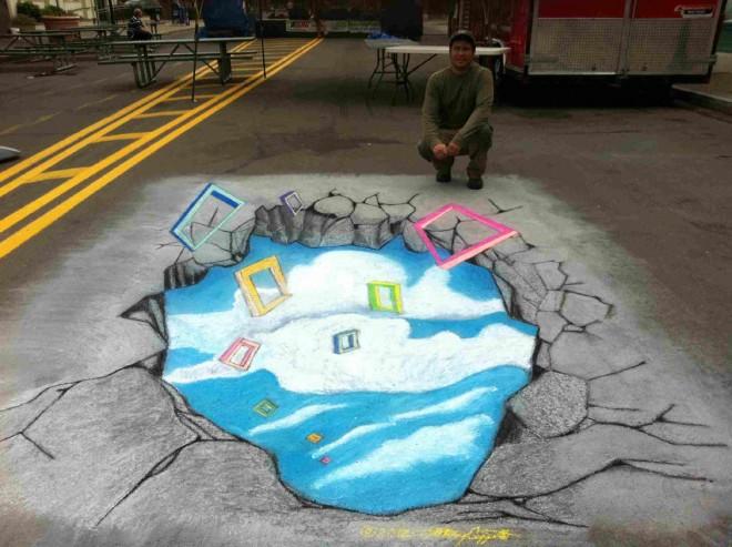 pond street paintng