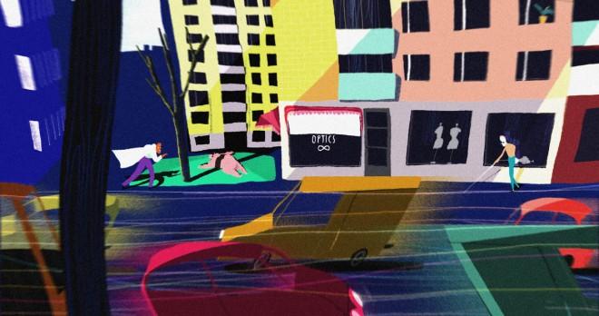 sore eyes animated short film