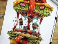 4-monster-creative-drawings-by-tino-valentin-hopic
