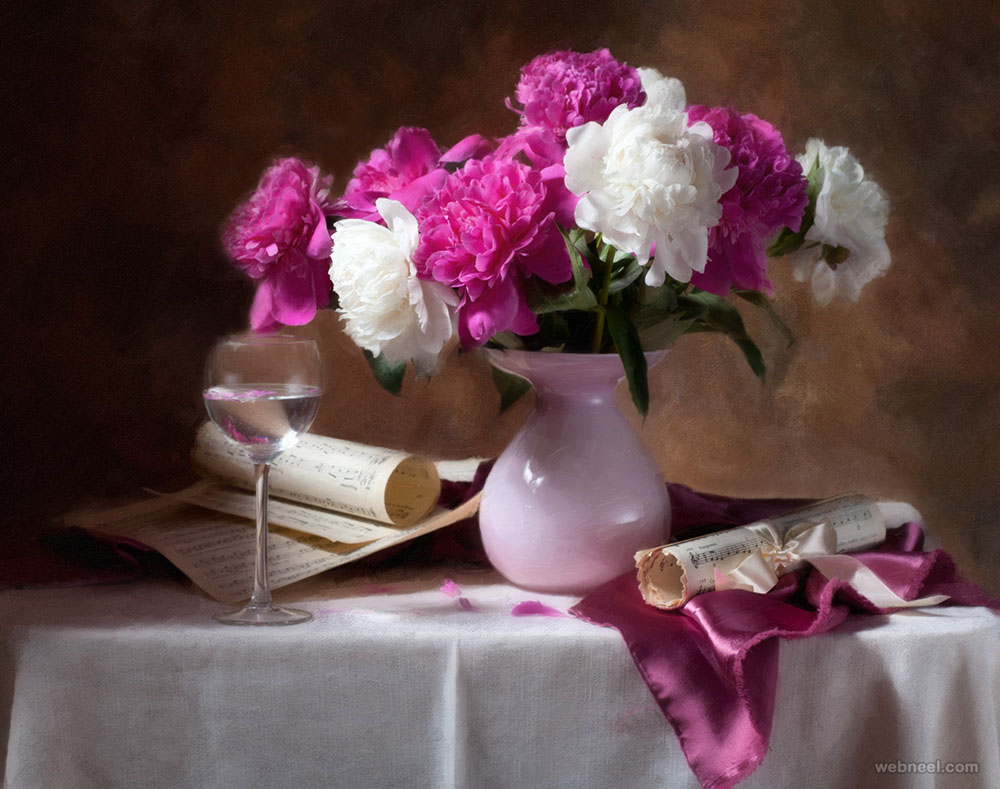 flowers still life photography by alina lankina