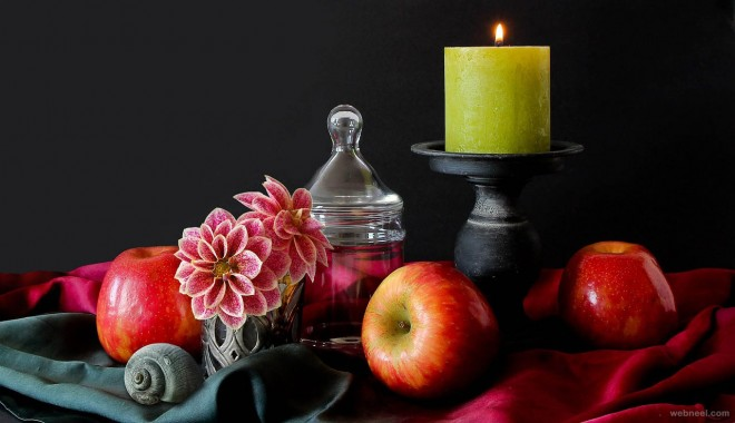 flowers fruits still life photography