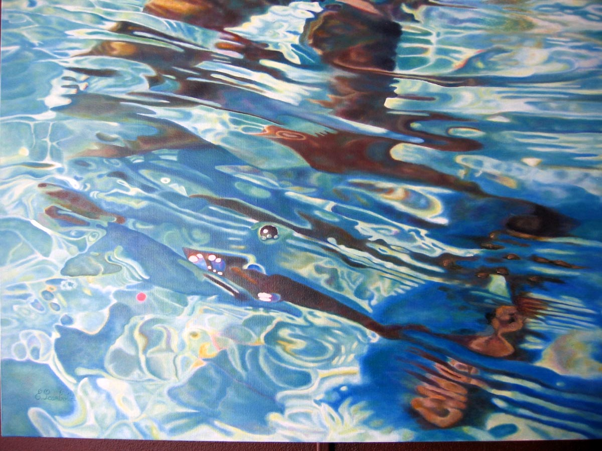 abstract acyrlic painting luxembourg art contest