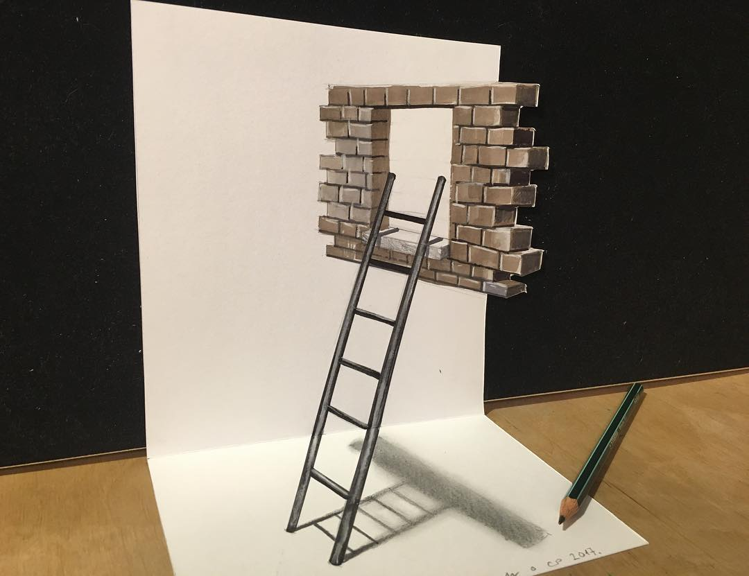 ladder 3d drawing