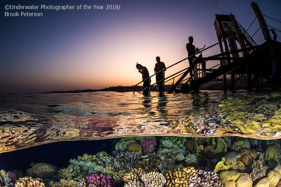 snorkel underwater photography