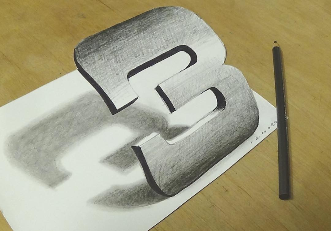 3d drawing by sandor vamos 3d drawing